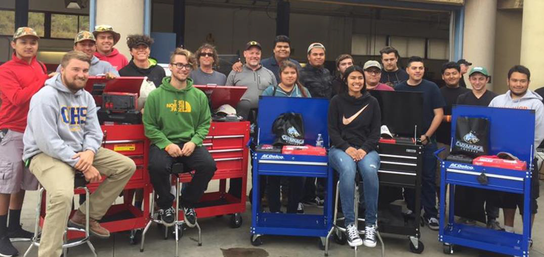 "Another Cuyamaca College Automotive ""Skills Day"" in the Books"